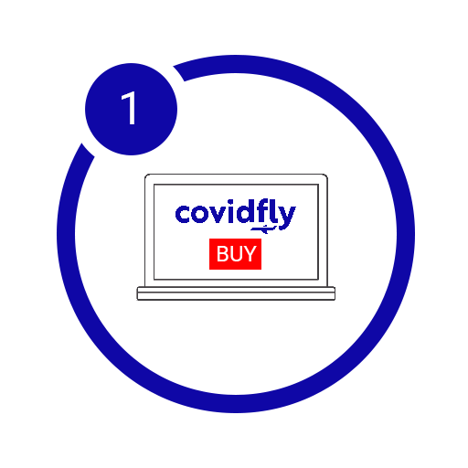 Purchase your COVID test from Covidfly